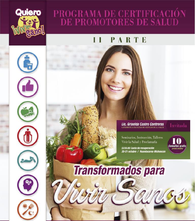 CAPACITACIÓN DE PROMOTORES DE SALUD 2018